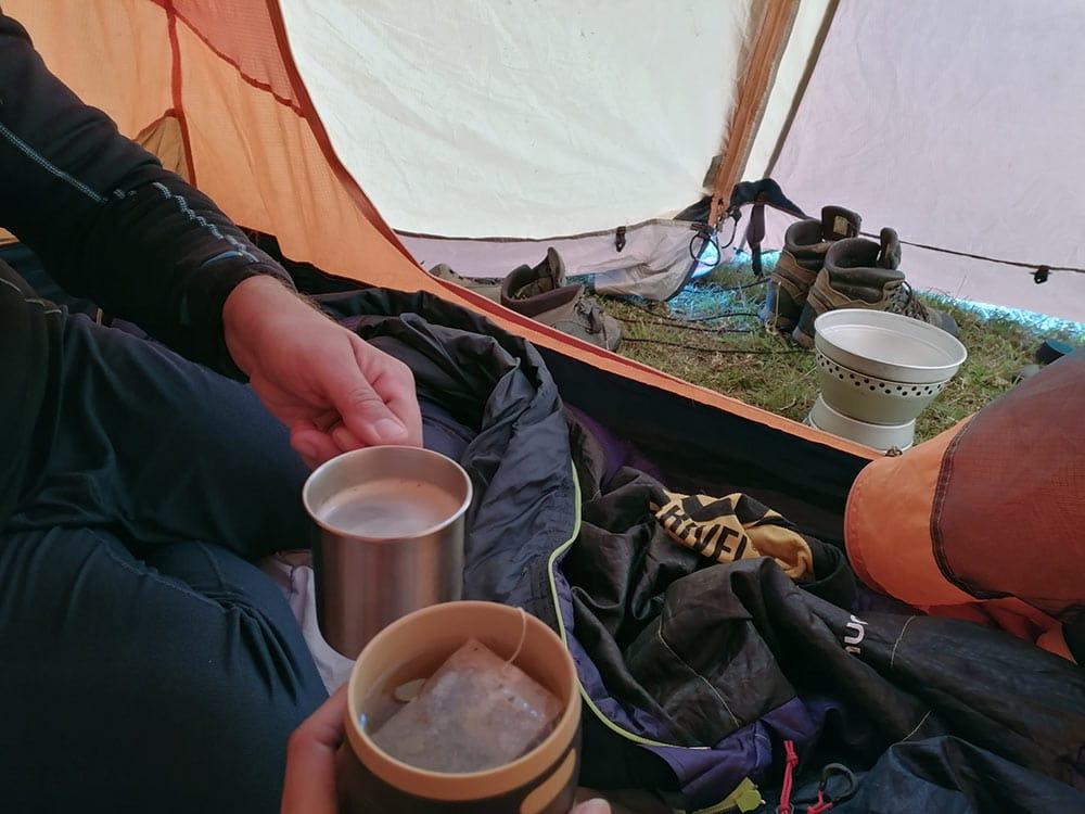 The in tenda!