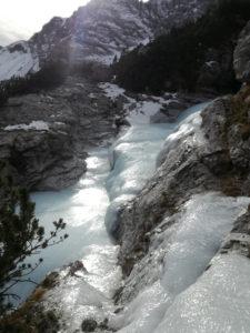 Sentiero di ghiaccio