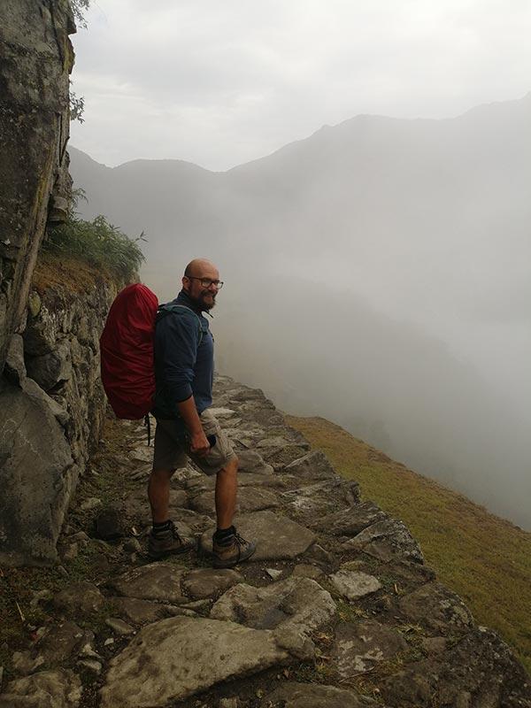 Davide a Machu Picchu