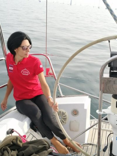 La nostra skipper