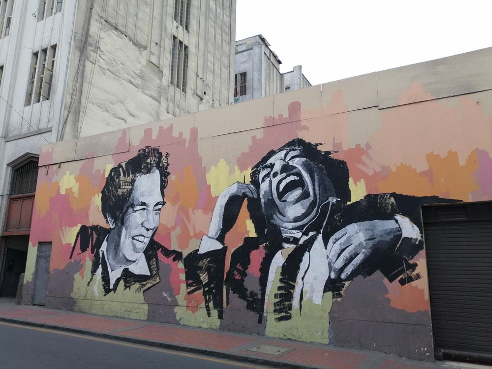 Lima Centrale street art