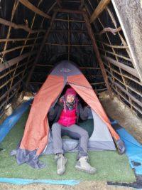 Tenda dentro la tenda sul Salkantay