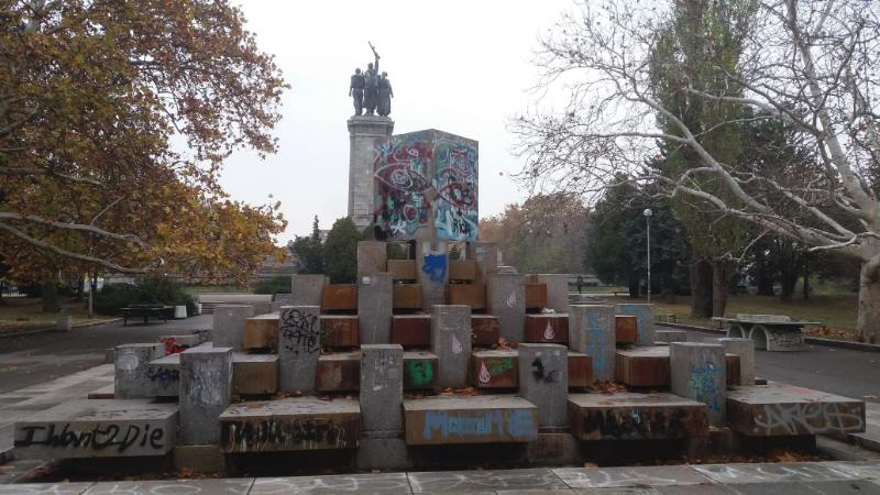 Monumento soviet