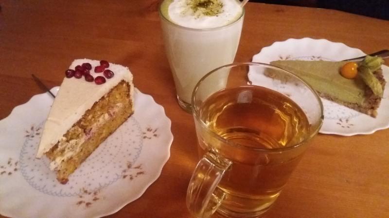 Torte fatte a mano alla tea house