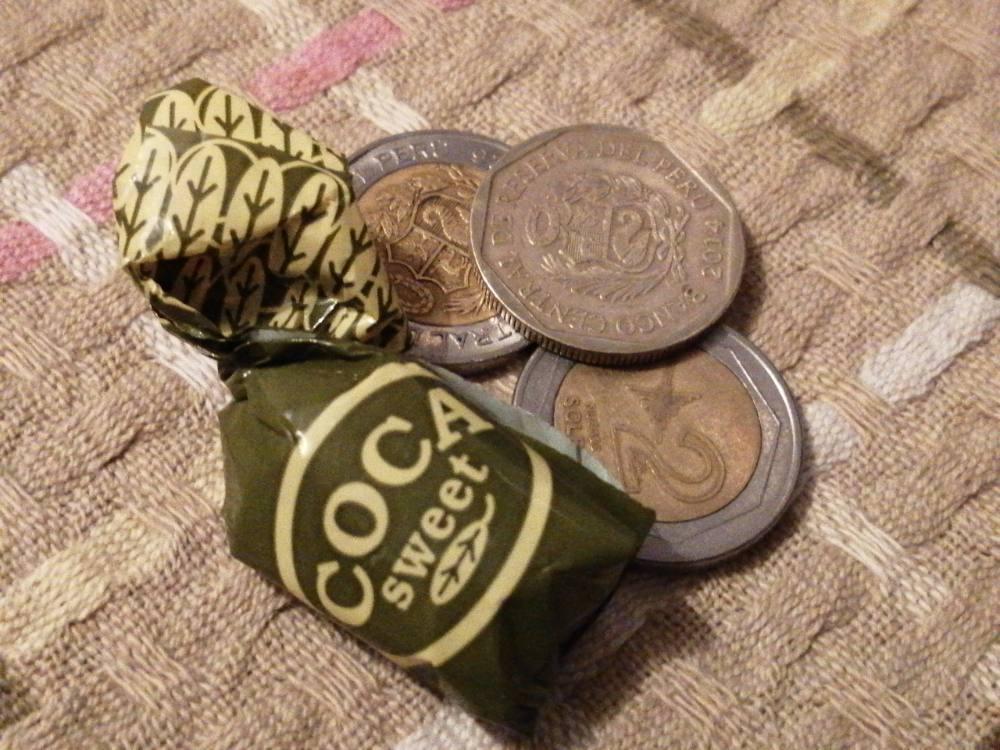 caramelle di coca