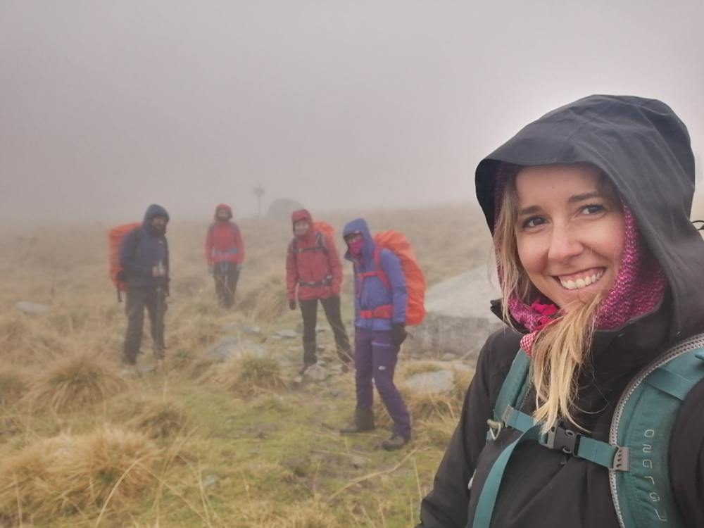 Spersi nella nebbia in Val Camonica