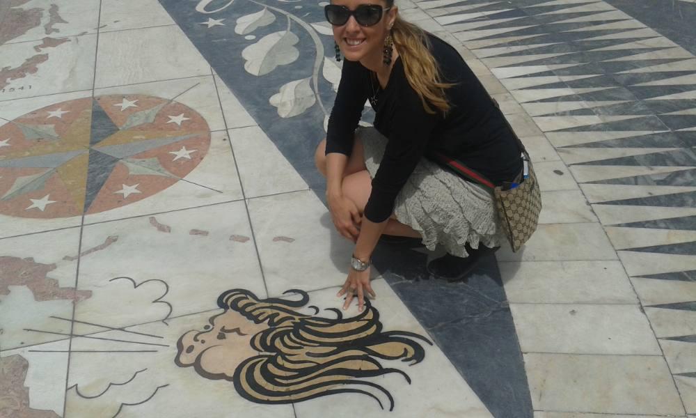 Silvia a Lisbona