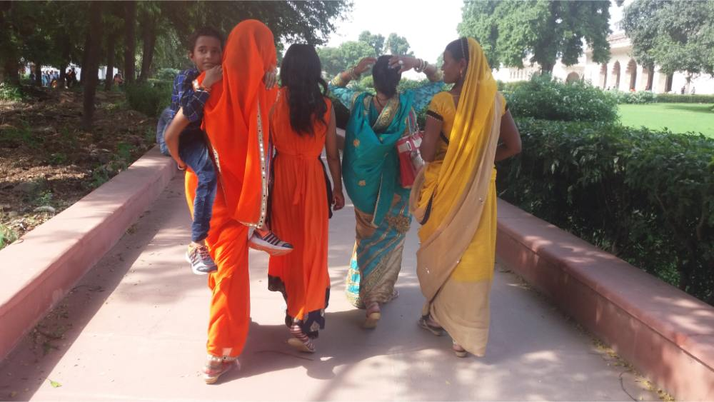 Donne in sari