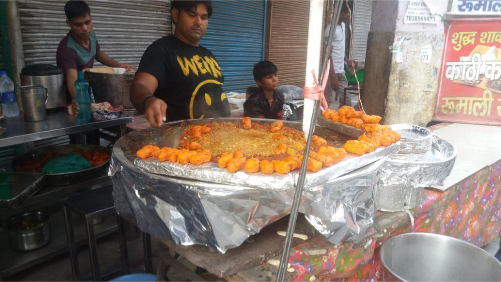 Street food indiano