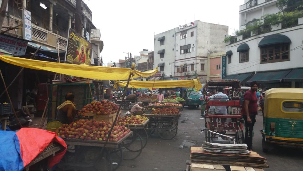 Strade a New Delhi
