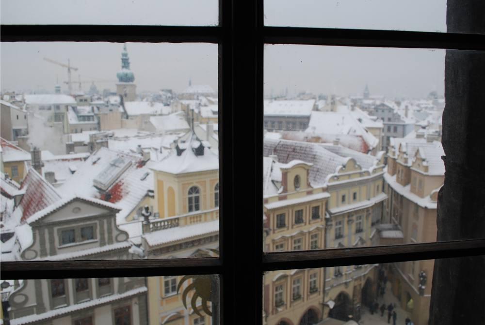 Praga dall'orologio