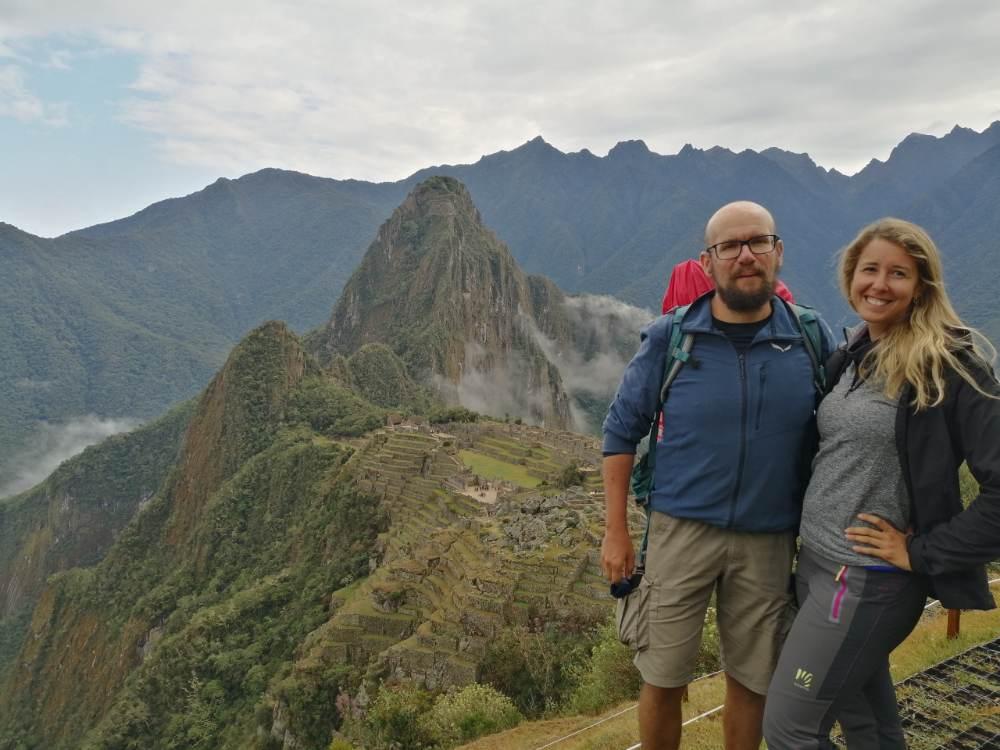 Noi a Machu Picchu