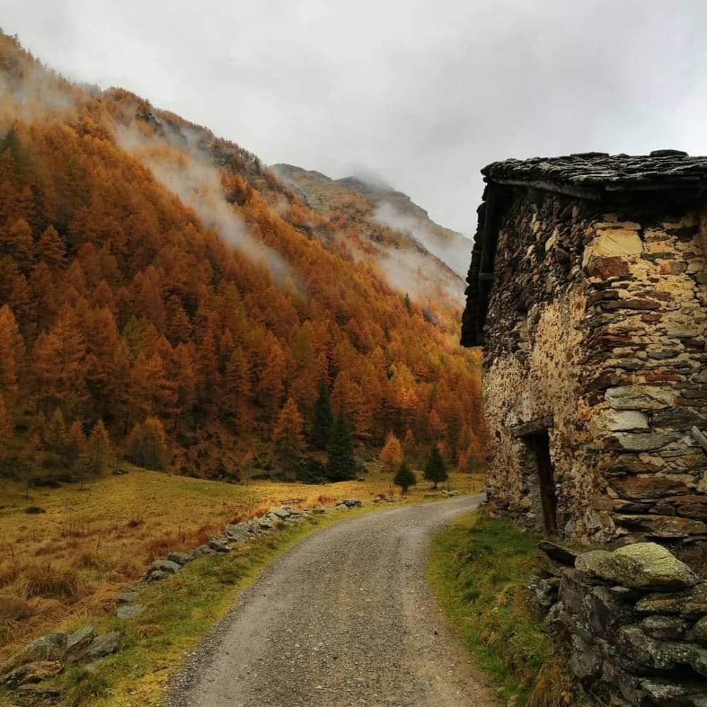 Salendo al rifugio Valmazia