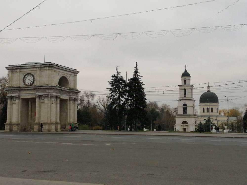 Piazza delle parate a Chisinau