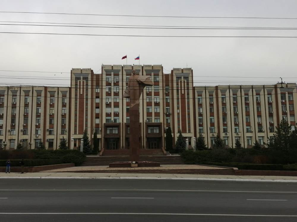 Presidenziale a Tiraspol