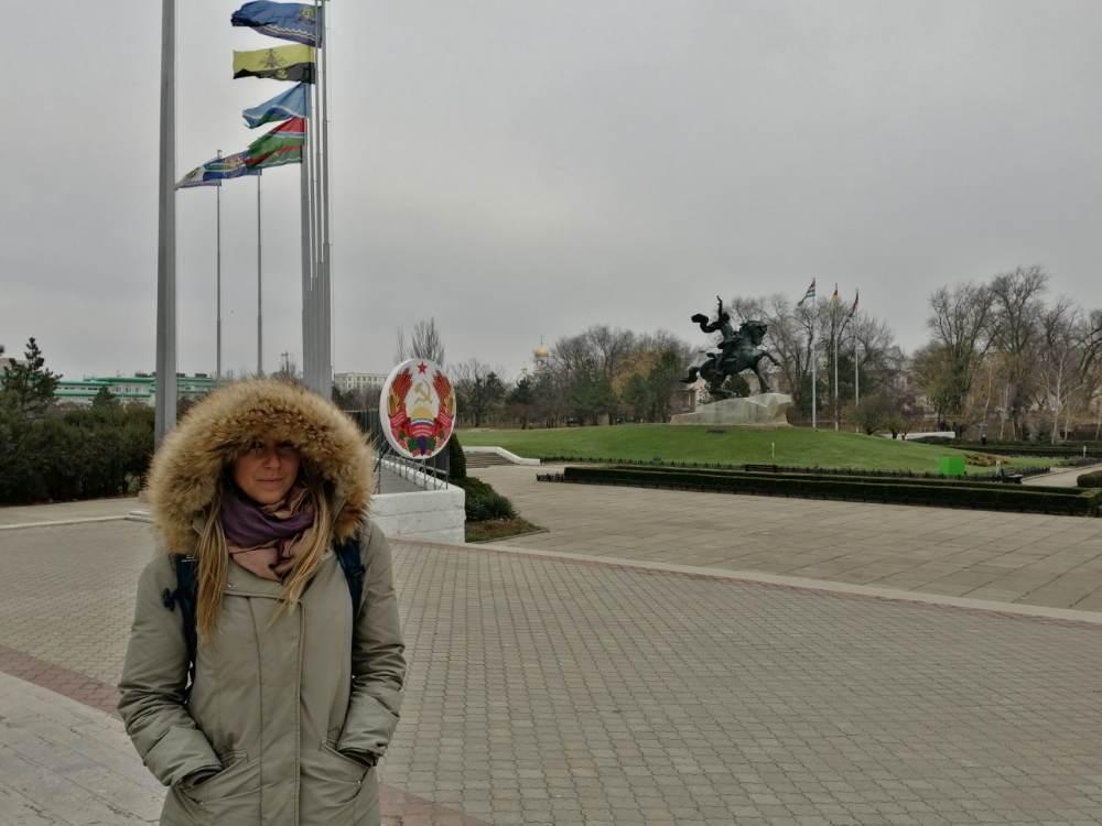 Silvia a Tiraspol