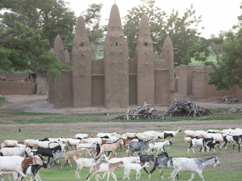 Moschea in Burkina Faso
