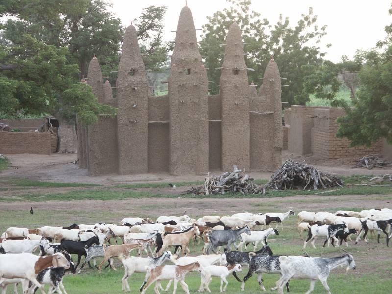 Moschea in Burkina Faso