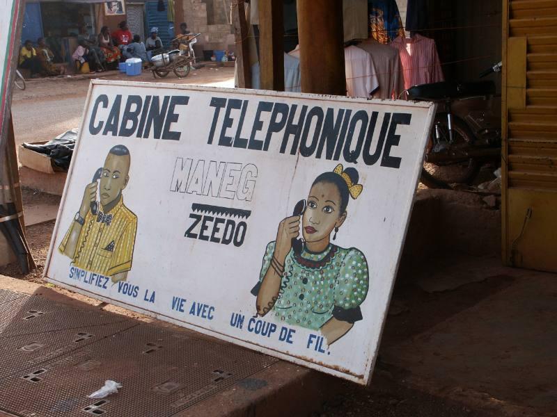 Insegna telefonica