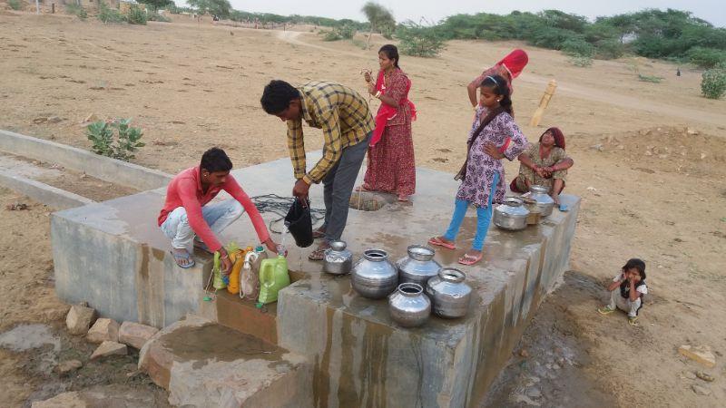 rifornimenti di acqua