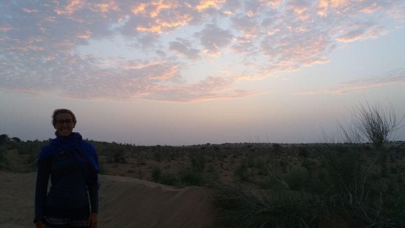 alba nel deserto