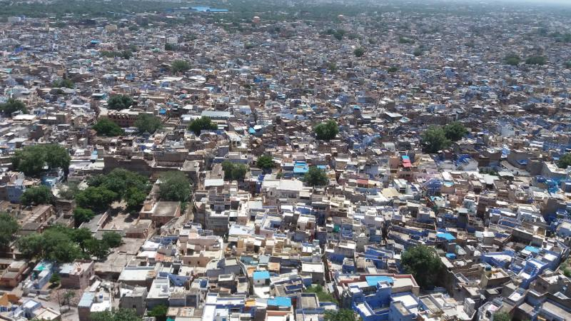 densità india