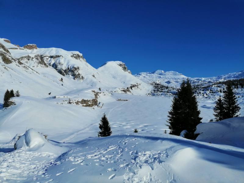 piani eterni in inverno