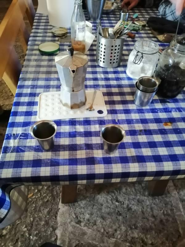 caffè offerto