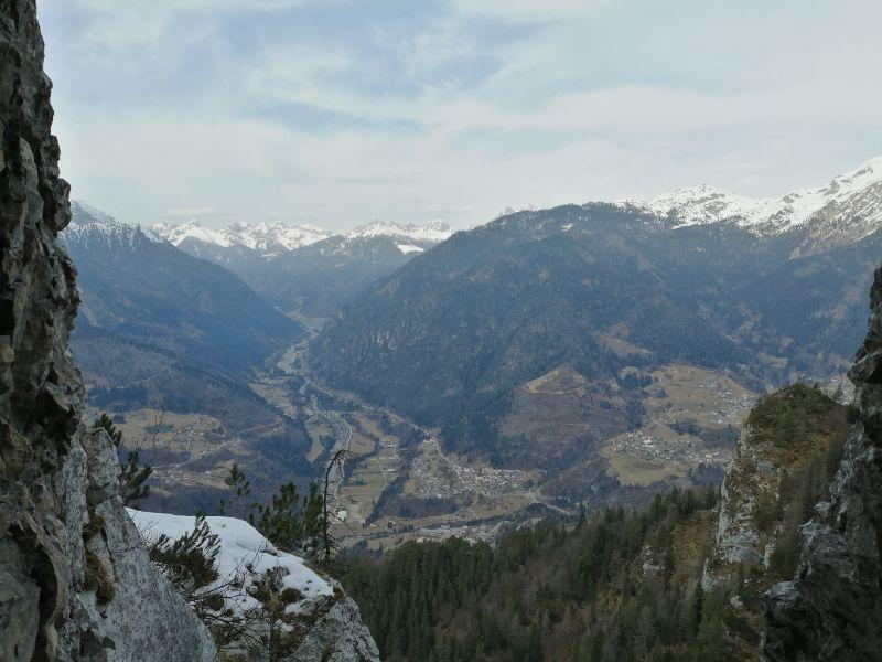 panorama dalle gallerie del monte totoga