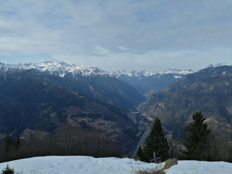 panorama dal monte totoga