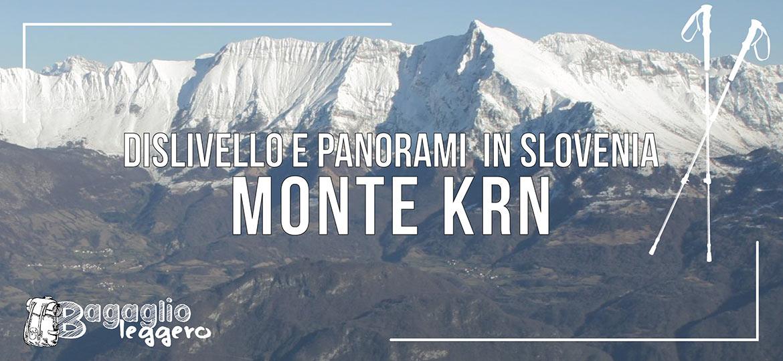 Salita al monte Krn in Slovenia, copertina