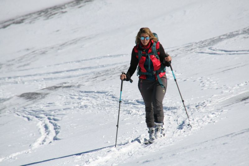 scialpinismo sull'etna