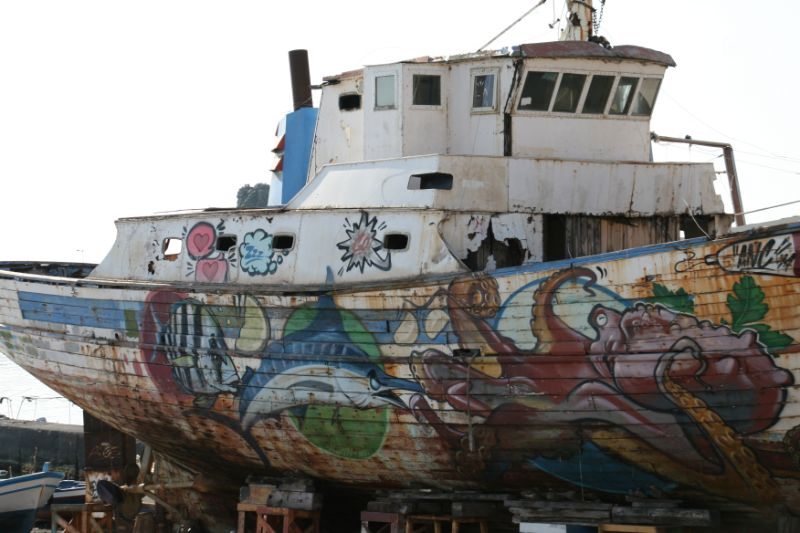 barca di pescatori acitrezza