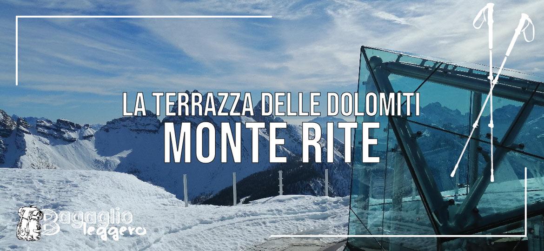 Monte Rite: la terrazza delle Dolomiti