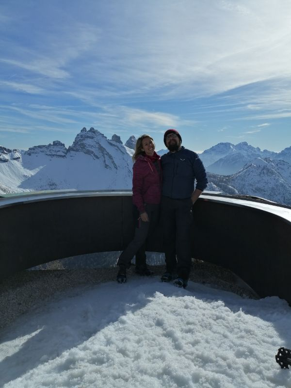 Terrazza panoramica del Monte Rite