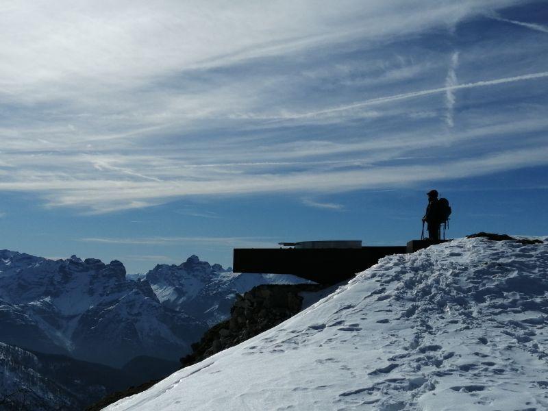 Vista dal Monte Rite