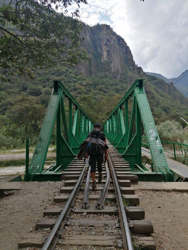 Davide verso Machu Picchu