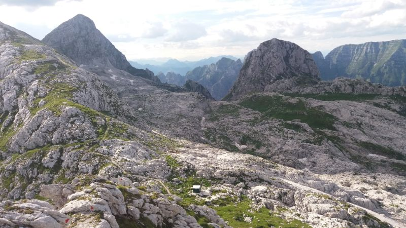 Panorama montagne friulane