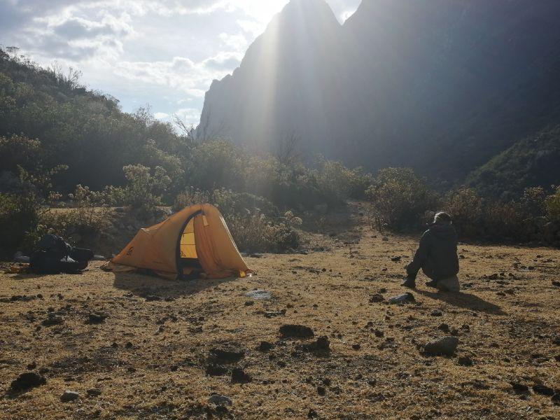 preparare lo zaino per viaggi in tenda