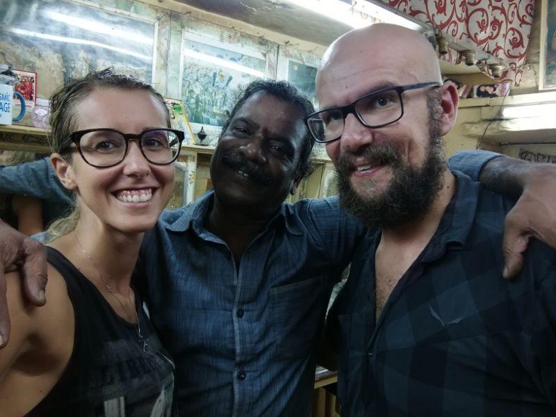Silvia e Davide con Baba