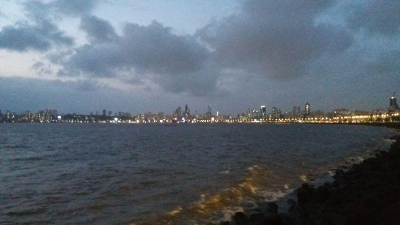 Marine Drive, oceano indiano
