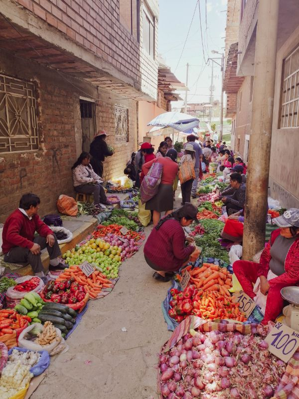 mercado central huaraz