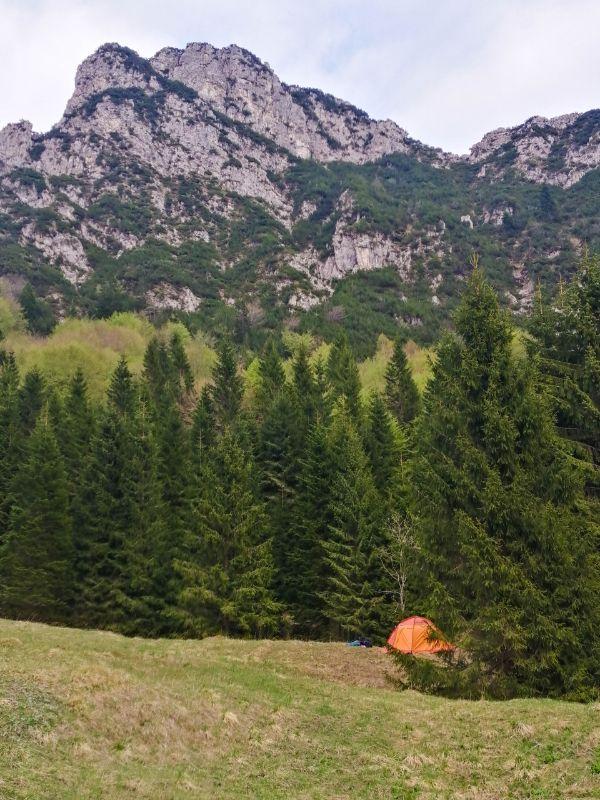 dove mettere la tenda in montagna