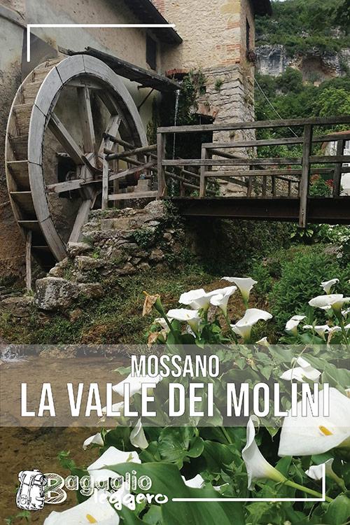 La valle dei mulini a Mossano pin