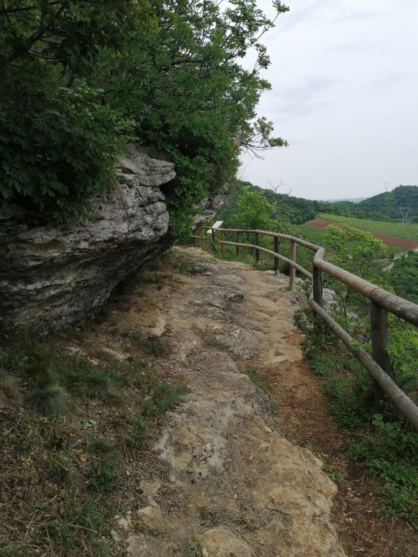 sentiero valle dei mulini