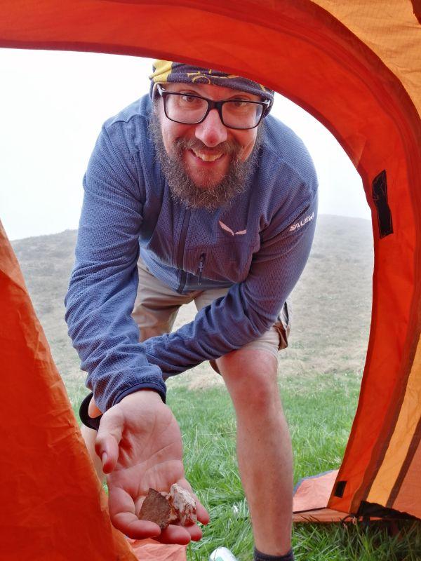 tenda in montanga, si può?