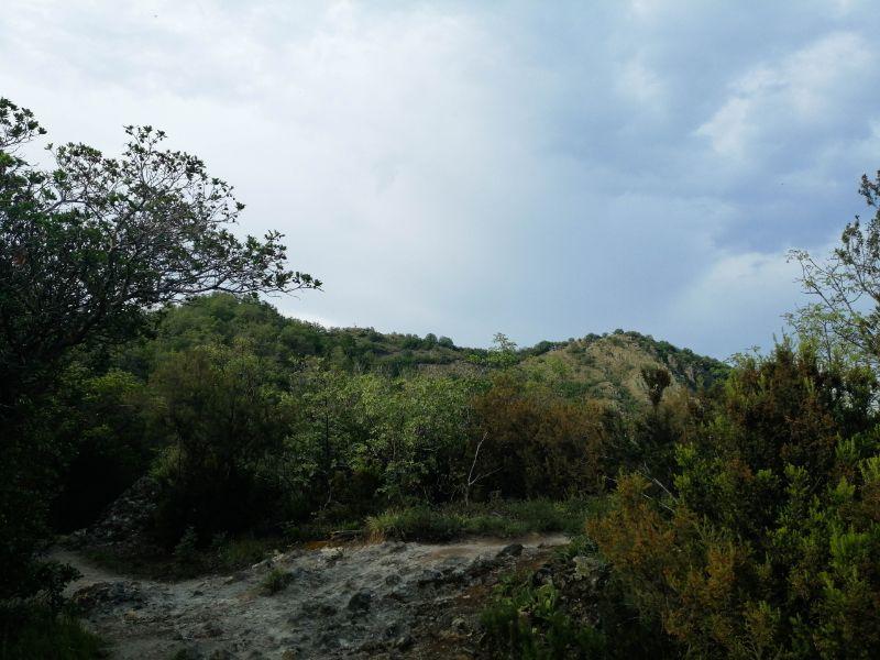 Anello delle creste verso il Monte Ceva da Battaglia Terme