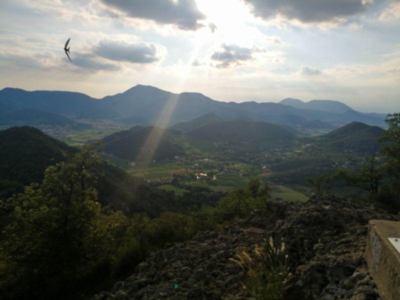 Tramonto sui Colli Euganei