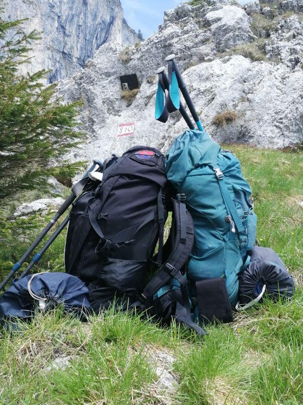 come preparare lo zaino per trekking in tenda