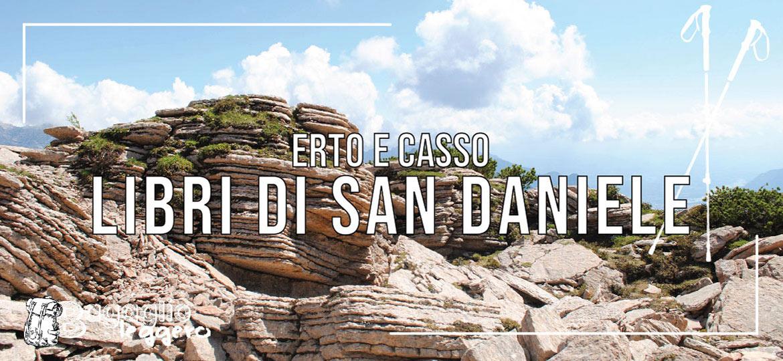 Erto e Casso: Libri di San Daniele e Monte Borgà